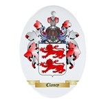 Clancy Ornament (Oval)