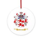Clancy Ornament (Round)