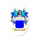 Claesson Oval Car Magnet