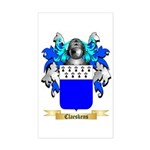 Claeskens Sticker (Rectangle)