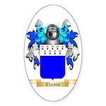 Claesen Sticker (Oval)