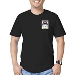 Claborn Men's Fitted T-Shirt (dark)