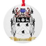 Claborn Round Ornament