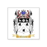 Claborn Square Sticker 3