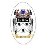 Claborn Sticker (Oval 50 pk)