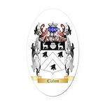 Clabon Oval Car Magnet