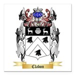 Clabon Square Car Magnet 3