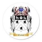 Clabon Round Car Magnet
