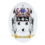 Clabon Ornament (Oval)