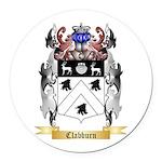 Clabburn Round Car Magnet