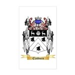 Clabburn Sticker (Rectangle)