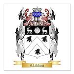 Clabbon Square Car Magnet 3