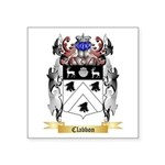 Clabbon Square Sticker 3