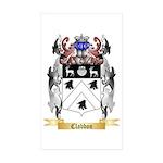 Clabbon Sticker (Rectangle 10 pk)