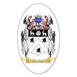 Clabbon Sticker (Oval 50 pk)