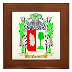 Cissen Framed Tile