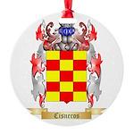 Cisneros Round Ornament