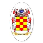 Cisneros Sticker (Oval 50 pk)