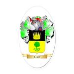 Cisar Oval Car Magnet