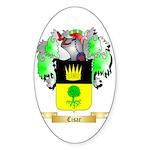 Cisar Sticker (Oval 50 pk)