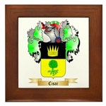 Cisar Framed Tile