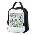 Celtic Knotwork Puzzle Square Neoprene Lunch Bag