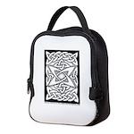 Celtic Knotwork Quasar Neoprene Lunch Bag