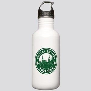 New York Irish American Water Bottle