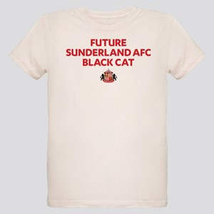 Future Sunderland AFC Black C Organic Kids T-Shirt