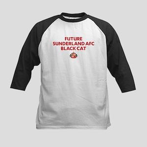 Future Sunderland AFC Black Cat Kids Baseball Tee