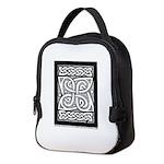 Celtic Knotwork Cloverleaf Neoprene Lunch Bag