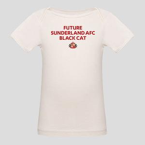 Future Sunderland AFC Black C Organic Baby T-Shirt