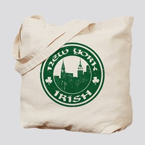 New York Irish American Tote Bag