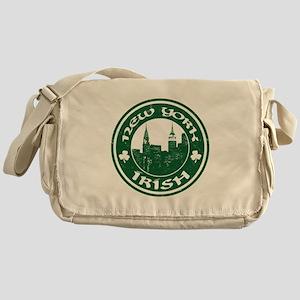 New York Irish American Messenger Bag