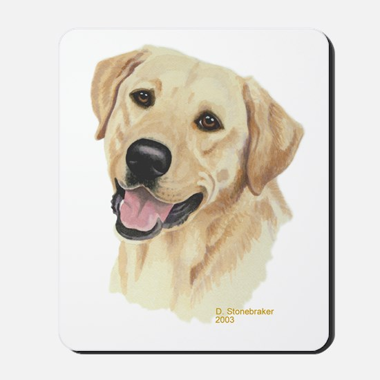 Yellow Labrador Mousepad