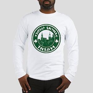 New York Irish American Long Sleeve T-Shirt