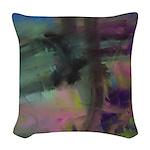 Dream Memory Abstract Woven Throw Pillow