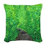 Catskills Spring Woven Throw Pillow