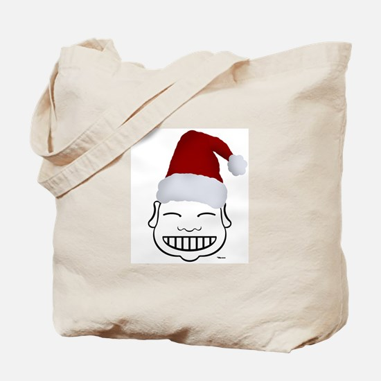 HAPPY SANTA Tote Bag
