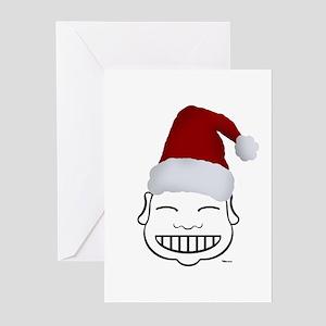 HAPPY SANTA Greeting Cards (Pk of 10)