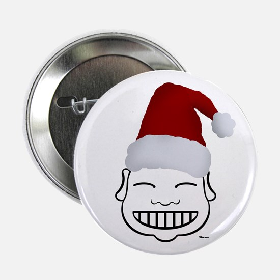 HAPPY SANTA Button