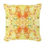 Cellular Hopscotch Woven Throw Pillow