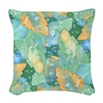 Early Frost Woven Throw Pillow