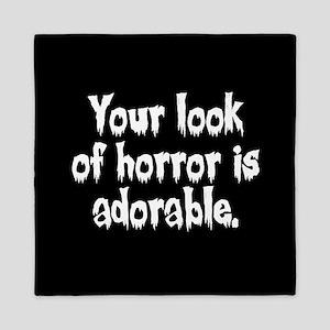 Your Look Of Horror Is Adorable Queen Duvet