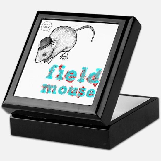 Fieldmouse Keepsake Box