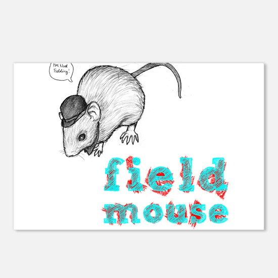 Fieldmouse Postcards (Package of 8)