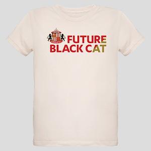 Future Black Cat SAFC Organic Kids T-Shirt