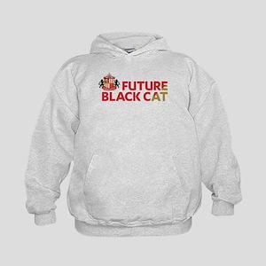 Future Black Cat SAFC Kids Hoodie