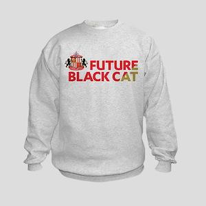 Future Black Cat SAFC Kids Sweatshirt