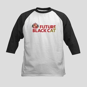 Future Black Cat SAFC Kids Baseball Tee